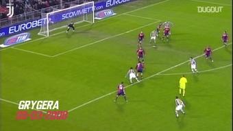Les meilleurs buts de la Juventus au Genoa. dugout
