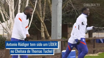 Rüdiger 'renasce' no Chelsea.