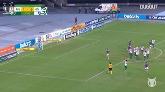 Los mejores goles de Martinelli en el Brasileirao. Captura/Dugout