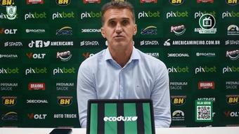 Mancini vibra com saída do América-MG da zona de rebaixamento. DUGOUT