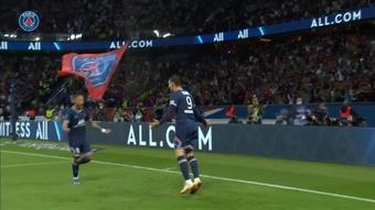 Mauro Icardi anotó el gol de la victoria para el PSG ante el OL. Dugout