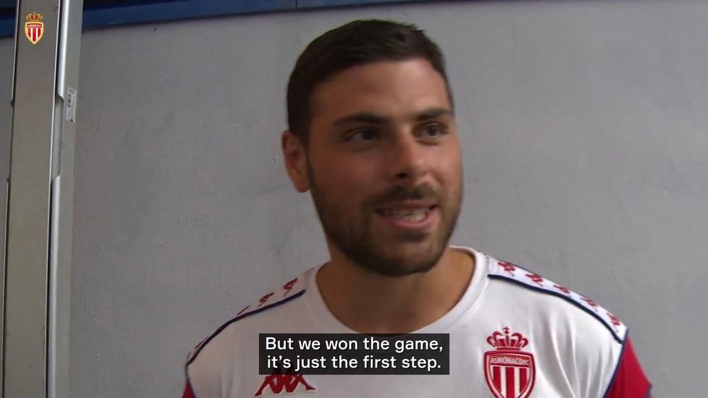 Kevin Volland scored as Monaco won 0-2 at Sparta Prague. DUGOUT