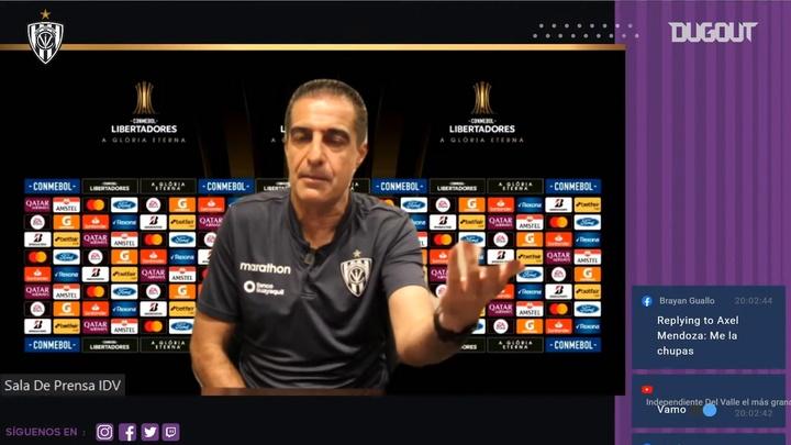 Renato Paiva avisó del peligro del rival. Dugout