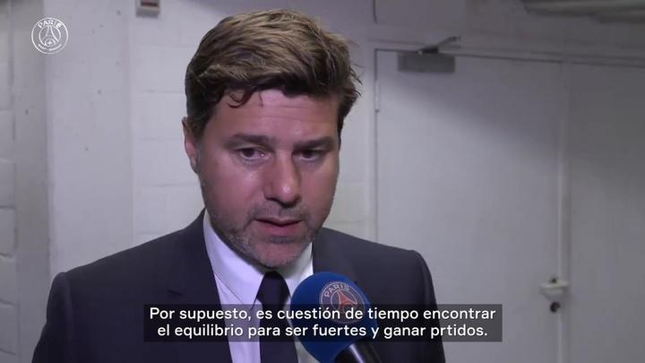 Pochettino destacó la decepción del PSG ante el Brujas. Captura/DUGOUT