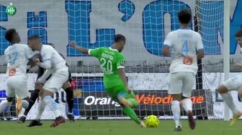 VIDÉO : la victoire de l'OM contre Saint-Étienne en 2020. Dugout