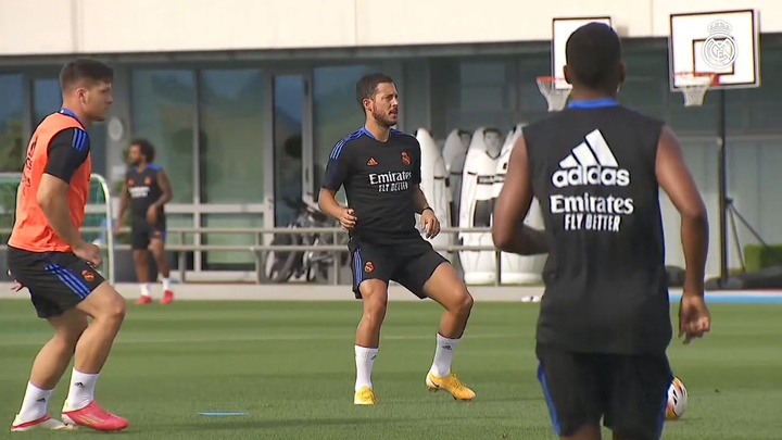 Alaba is back at RM City. DUGOUT