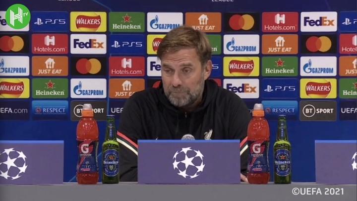 Klopp comemora vitória sobre o Milan.