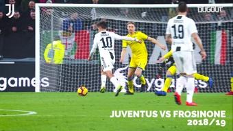 I primi 5 gol di Dybala alla Juve. Dugout
