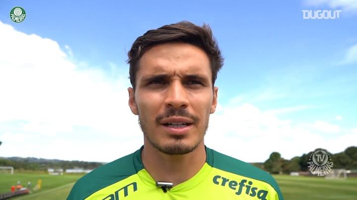 Raphael Veiga exalta empenho do Palmeiras antes de decisão da Recopa. DUGOUT