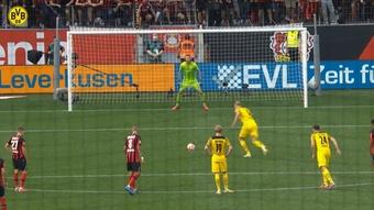 Haaland fue el héroe en la locura de Leverkusen. DUGOUT