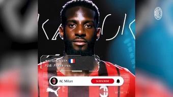 L'AC Milan annonce le retour de Bakayoko. dugout