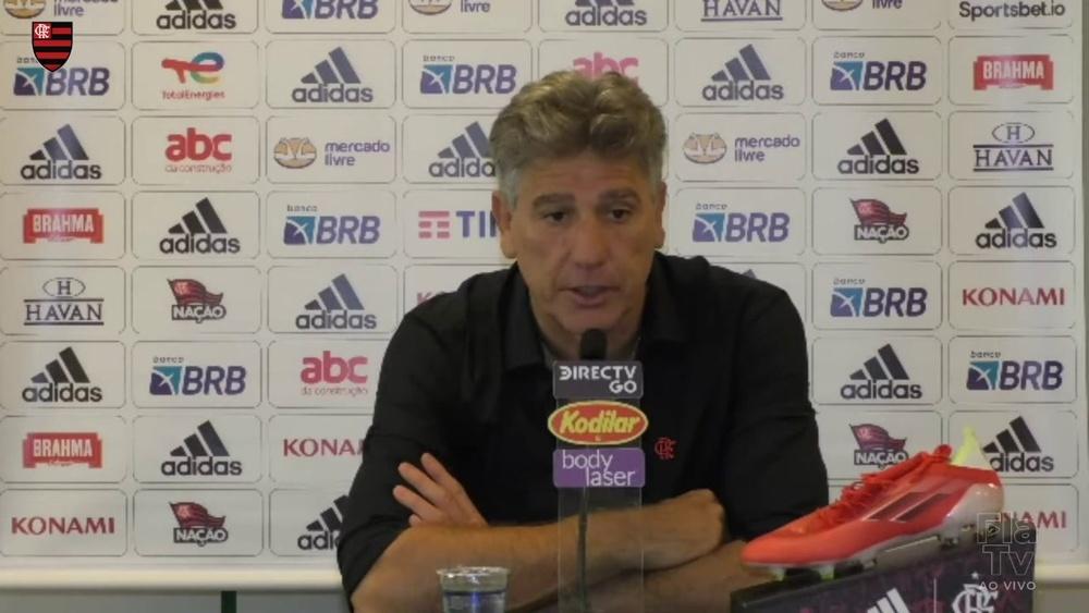 Renato Gaúcho fala sobre a chegada de David Luiz ao Flamengo. DUGOUT