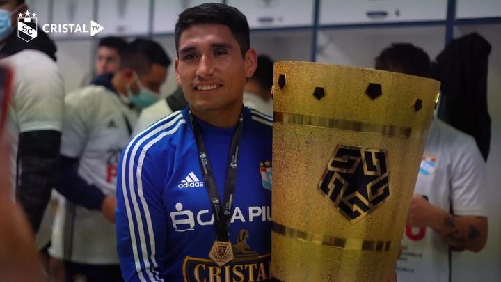 VÍDEO: así celebró Sporting Cristal la Copa Bicentenario 2021. DUGOUT