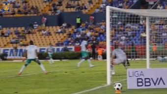 VÍDEO: así fue el primer gol de Fulgencio en la Liga MX. DUGOUT