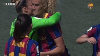 Barca have won Women's La Liga. DUGOUT