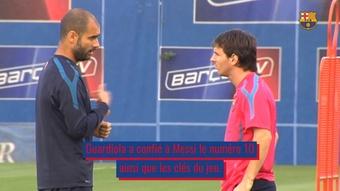 VIDÉO : l'influence de Pep Guardiola sur Lionel Messi. Dugout