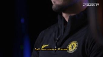 Saúl exalta chegada ao Chelsea. DUGOUT