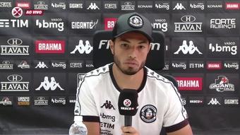 Morato falou sobre a situação do Vasco na disputa da Série B 2021. DUGOUT