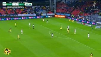 Fidalgo scored as America beat Necaxa 2-1. DUGOUT
