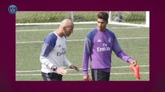 Achraf guarda una gran amistad con Zidane. DUGOUT