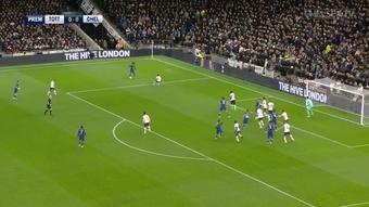 Les derniers buts de Chelsea à Tottenham. dugout