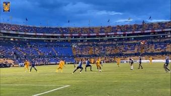 Nico Lopez scored as Tigres defeated Queretaro. DUGOUT