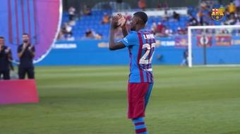 VÍDEO: así fue el debut de Emerson con el Barça. DUGOUT