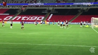 Pedro netted twice in 3-0 win for Flamengo over Sport Recife. DUGOUT