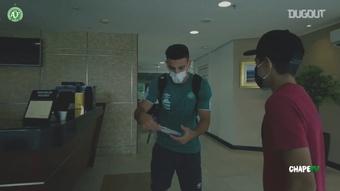 A Chapecoense visitou o Figueirense em Florianópolis e venceu por 3 a 1. DUGOUT