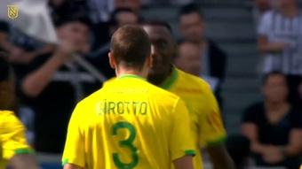 VIDÉO : la belle tête d'Andrei Girotto contre Angers. Dugout
