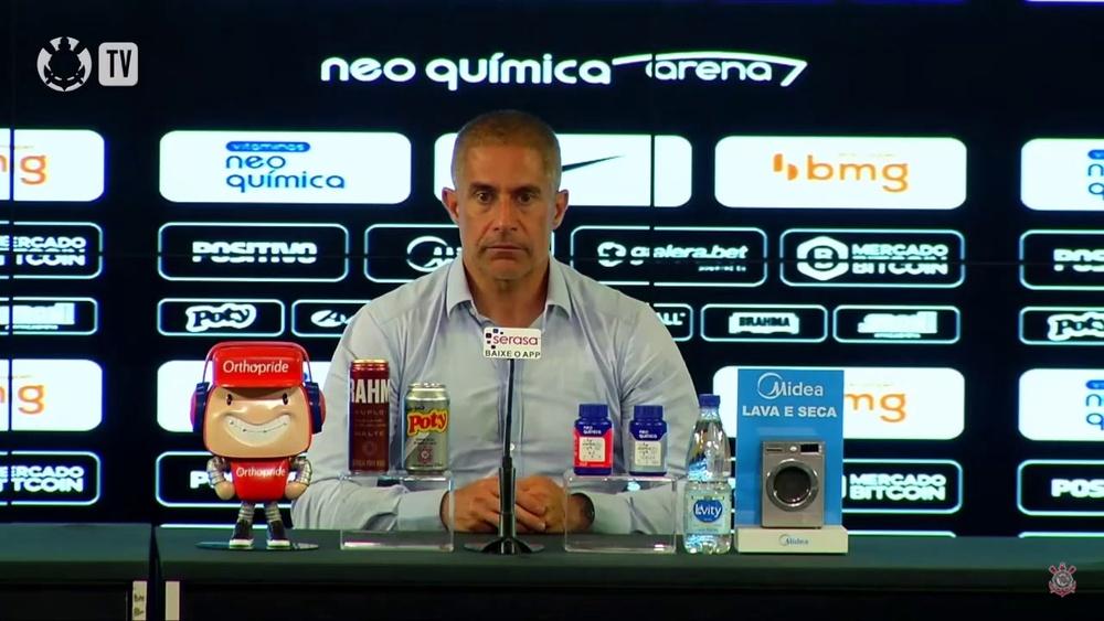 Sylvinho analisa empate com o Juventude. DUGOUT