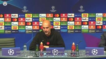 Guardiola enaltece força do elenco após goleada em estreia na Champions. DUGOUT