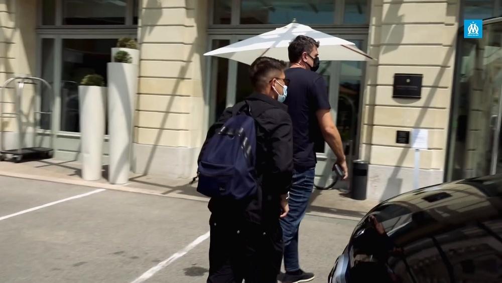 VIDÉO : les premiers moments de Cengiz Ünder à l'Olympique de Marseille. Dugout