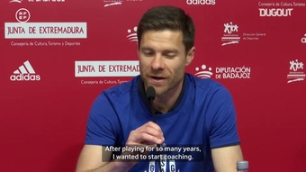 Xabi Alonso has led Real Sociedad B to the second tier. DUGOUT