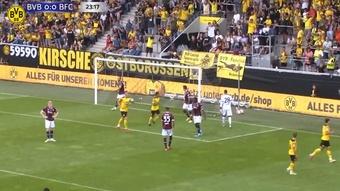 Borussia Dortmund easily beat Bologna in a friendly. DUGOUT