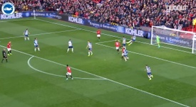Mat Ryan's Best Moments against Manchester United