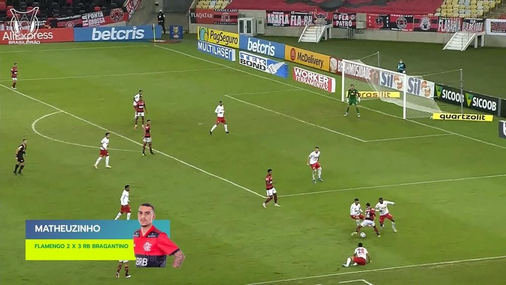 Matheuzinho showed off some terrific skill. DUGOUT