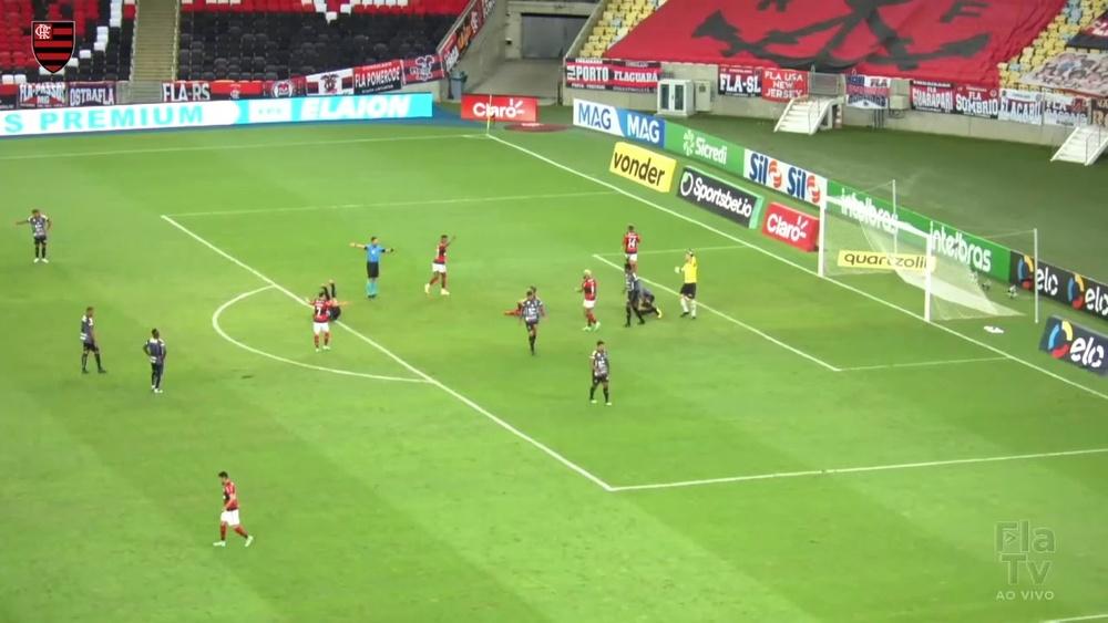 Veja os gols da vitória do Flamengo sobre o ABC no Maracanã. DUGOUT