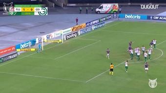 Les buts de Matheus Martinelli en Brasileirão 2020-21. Dugout