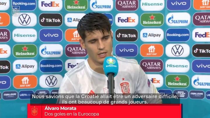 VIDEO : Alvaro Morata : 'Il faut passer par des moments difficiles'. DUGOUT