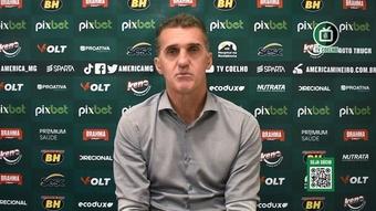 Mancini analisa empate e elogia postura do América-MG. DUGOUT