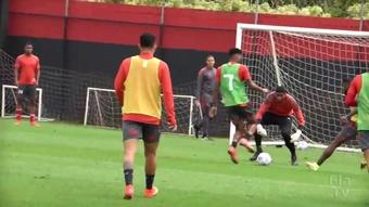 Flamengo segue em preparação para duelo com o Grêmio. DUGOUT