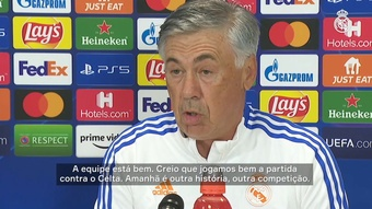 Antes de estreia, Ancelotti fala da mística entre Real Madrid e a Champions League. DUGOUT
