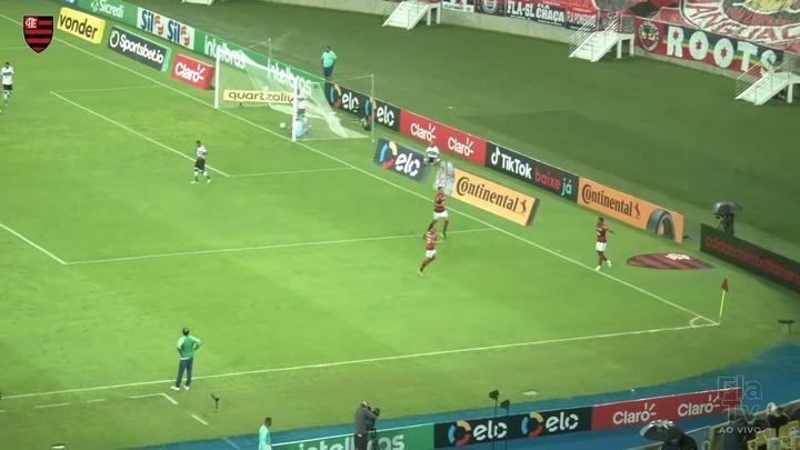 Gols do Flamengo na vitória contra o Coritiba pela Copa do Brasil. DUGOUT