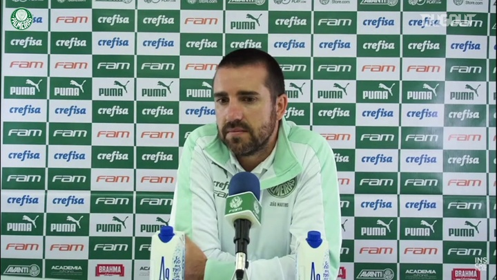 João Martins fala do desempenho de Lucas Lima. DUGOUT