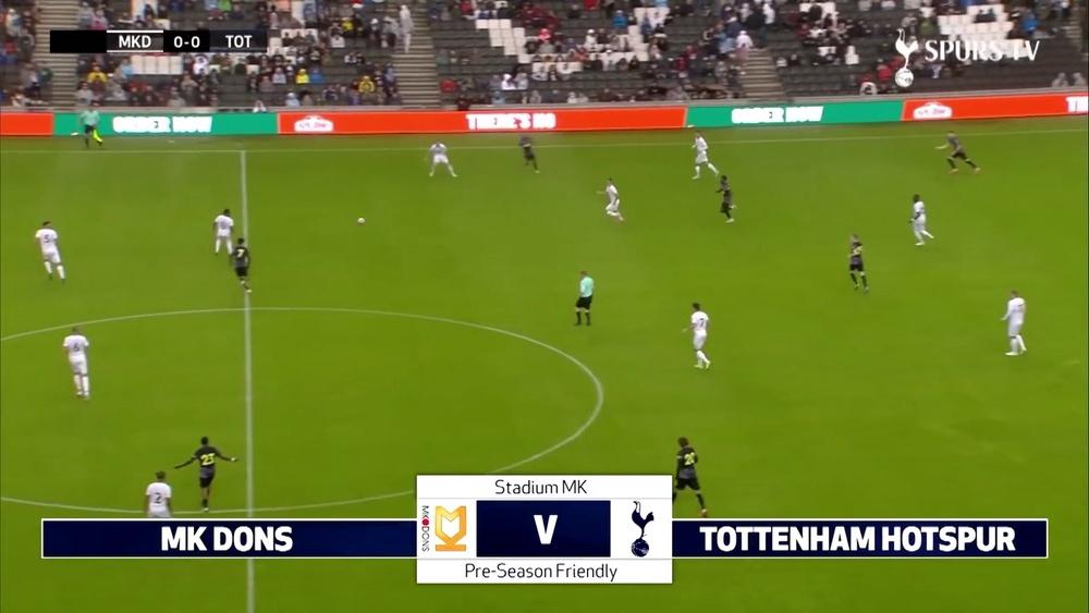 Lucas marca em vitória do Tottenham .