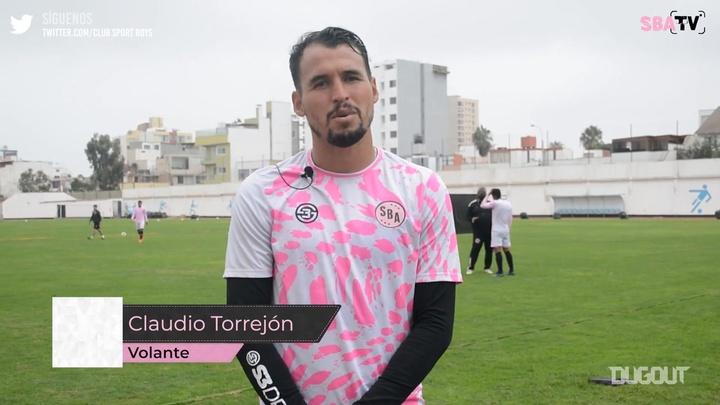 Claudio Torrejó habló sobre la situación actual del equipo. DUGOUT