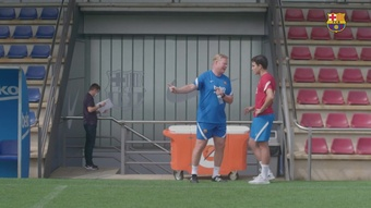 Eric Garcia e Pedri voltam aos treinos no Barcelona. DUGOUT