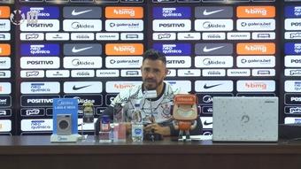 Giuliano exalta esforço do Corinthians e comenta expectativa grande por contratação. DUGOUT