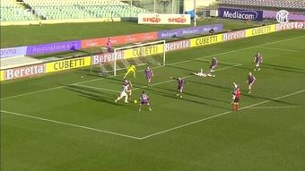 Il primo gol di Vidal nell'Inter. Dugout